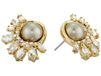 Lyst - Alexis Bittar Arrayed Marquis Accented Pearl Stud ...