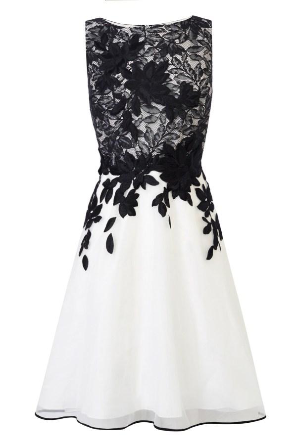 Coast Anabelle Artwork Dress In Black Lyst