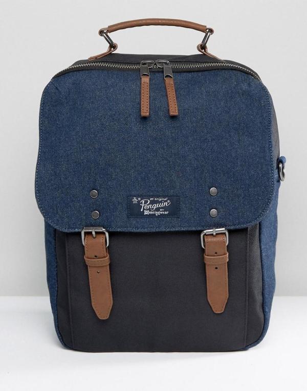 Lyst - Original Penguin Backpack In Blue Men