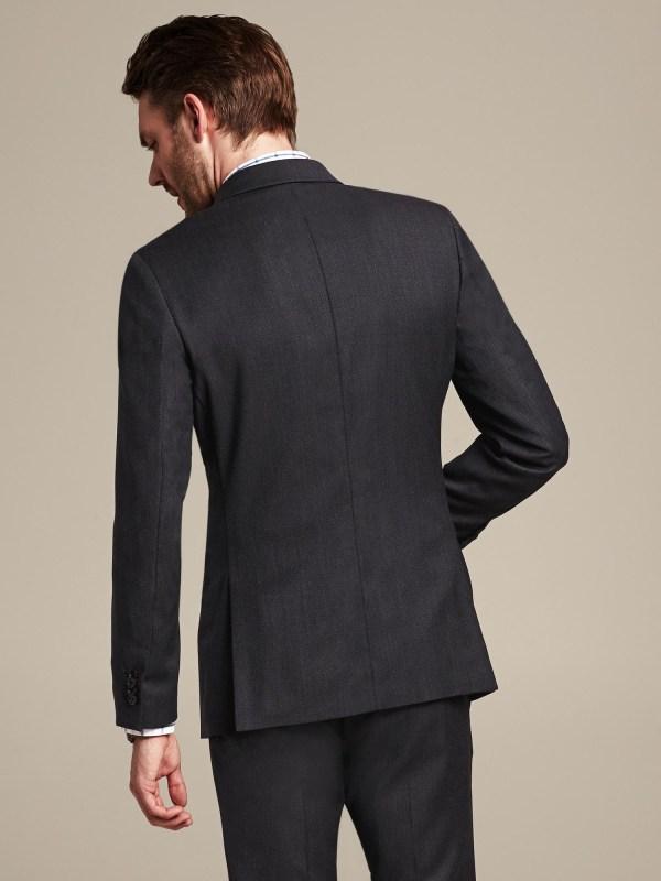 Banana Republic Modern Slim-fit Navy Birdseye Wool Suit