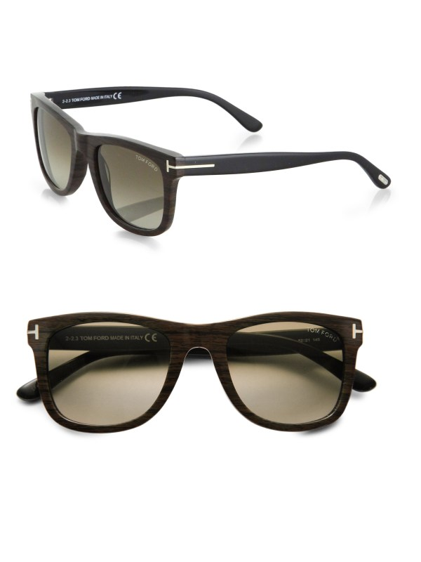 Tom Ford Leo Sunglasses In Brown Men Lyst