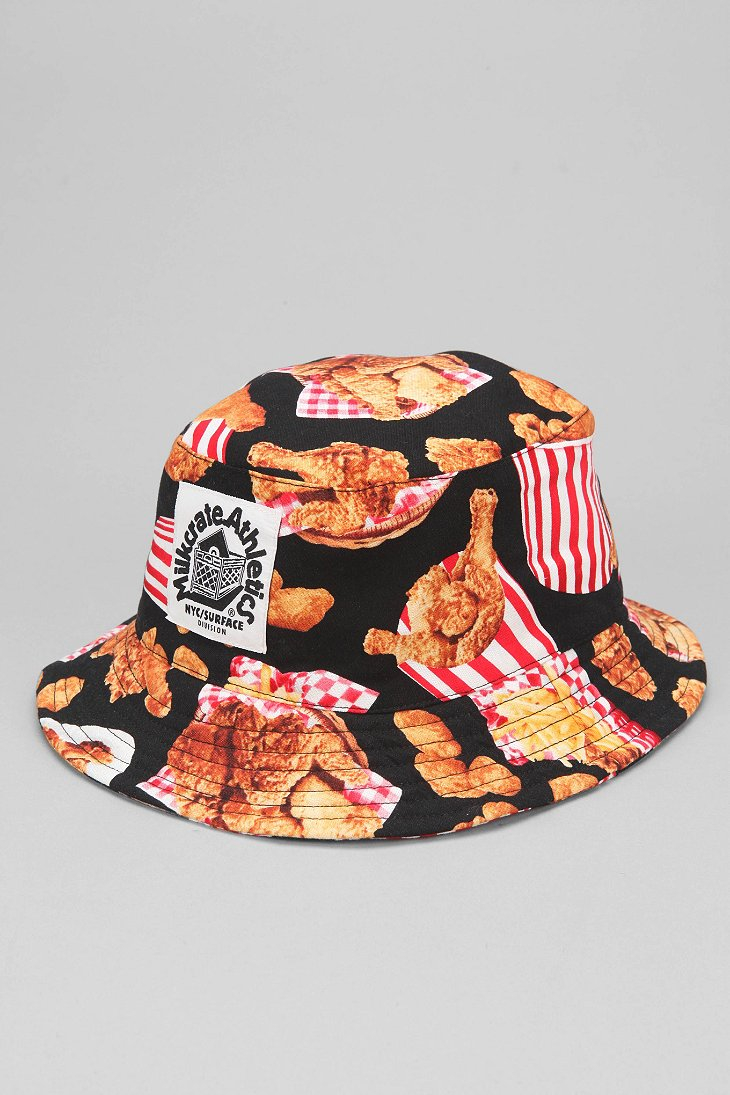 Lyst  Milkcrate Athletics Fried Chicken Bucket Hat in