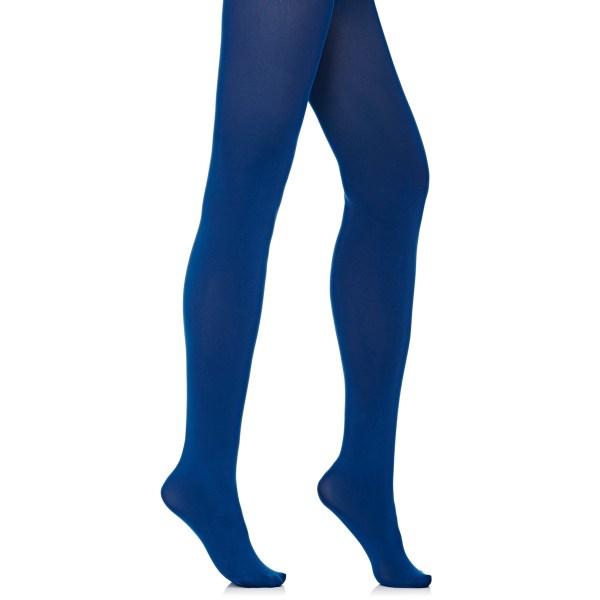Women Navy Blue Opaque Tights