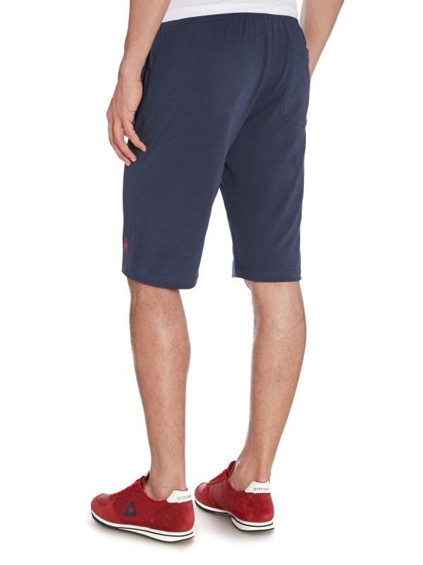 Le Sportif Cotton Shorts In Blue Men Lyst