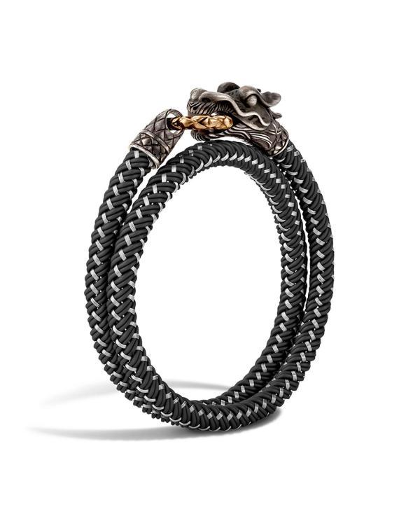 Lyst - John Hardy Men' Naga Double Wrap Dragon Cord