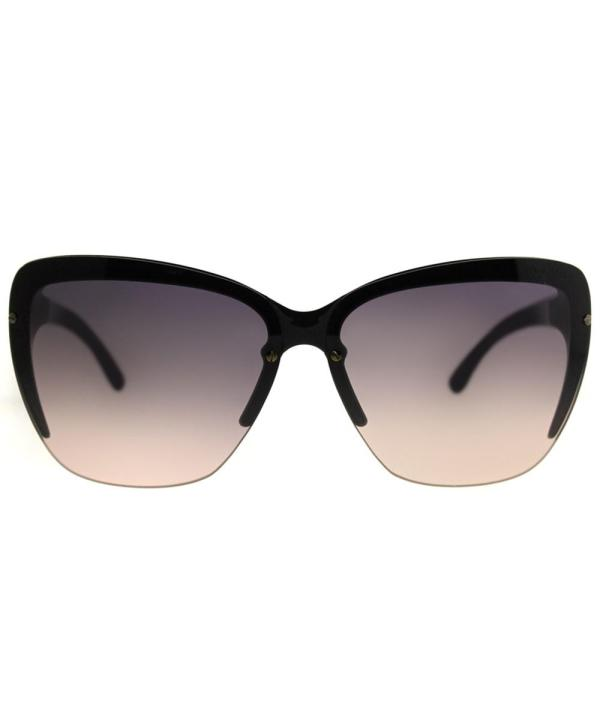 Tom Ford Poppy Tf 457 20b 69mm Black Cat-eye Sunglasses In
