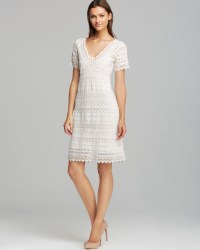 Lyst - Weekend By Maxmara Dress Rubens Short Sleeve Cotton ...