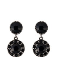 Givenchy Drop Magnetic Earrings in Black | Lyst