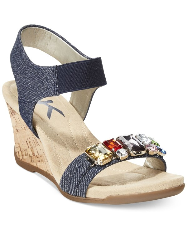 8111486d5985c 20+ Anne Klein Wedge Sandals Pictures and Ideas on STEM Education Caucus