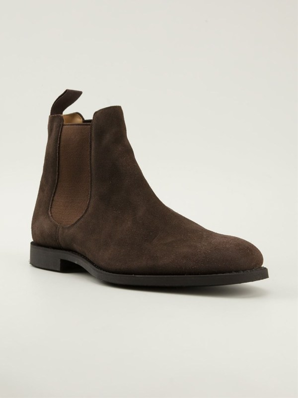 Church' Ely Chelsea Boots In Brown Men Lyst