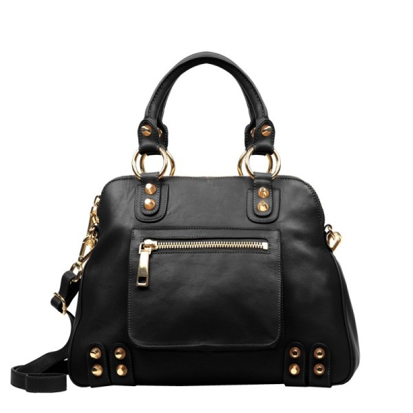 Linea Pelle Lady Dylan Large Bag In Black Lyst