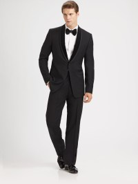 Lyst - Armani Shawl Collar Tuxedo in Black for Men