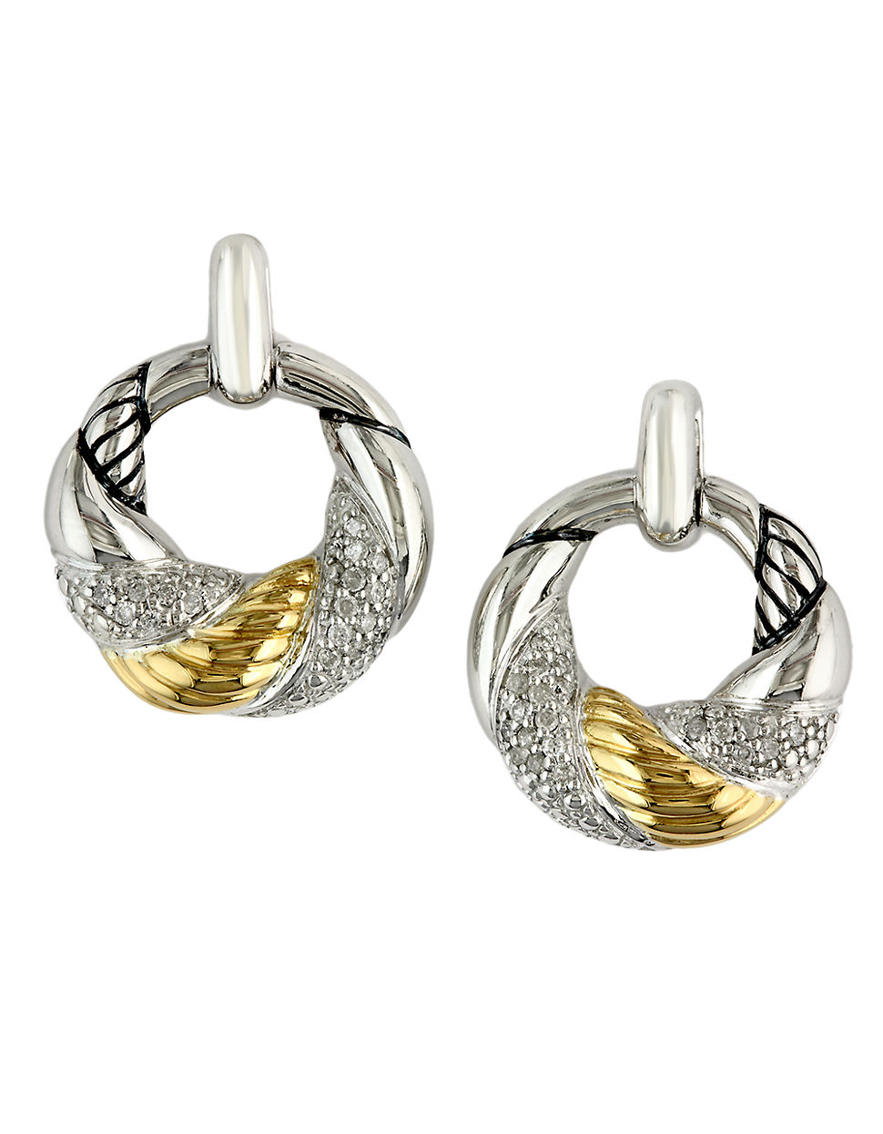 Effy Balissima Sterling Silver And 18k Yellow Gold