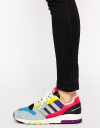 Lyst - Adidas Zx 420 Multi Colored Sneakers