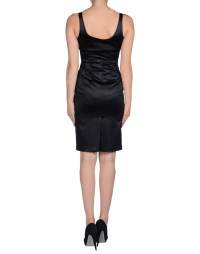 Lyst - Caractere Knee-length Dress in Black