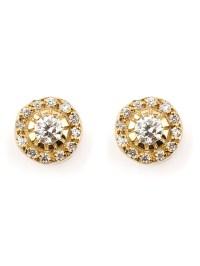 Lyst - Ileana Makri 'solitaire' Diamond Earrings in Metallic