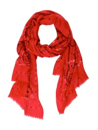 Yarnz Exclusive Bandana Scarf in Red | Lyst