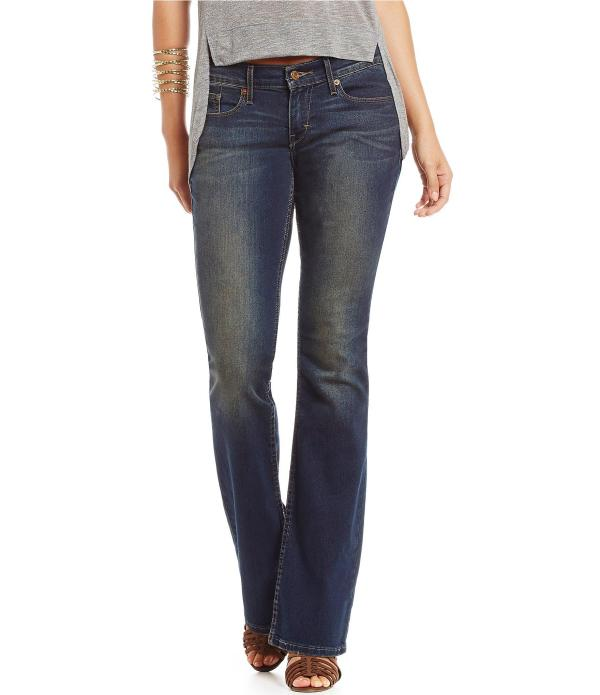 Levi' Levi 524 Bootcut Jeans In Blue Lyst