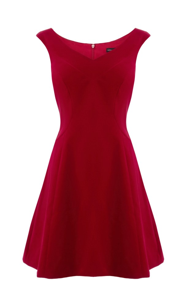 8939f0edf306 Red Velvet Dress Ribbon - Year of Clean Water