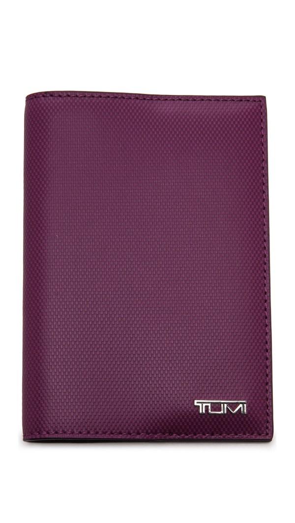 Lyst - Tumi Passport Cover Purple
