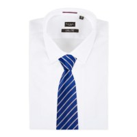 Paul smith Men's Royal Blue Mixed Diagonal Stripe Silk Tie ...