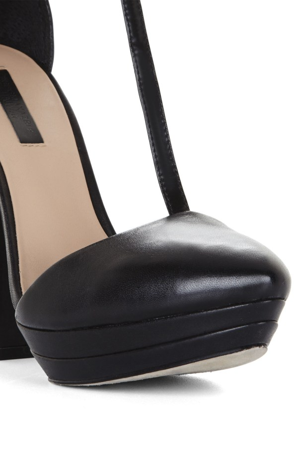Lyst - Bcbgmaxazria Highheel Tstrap Day Pump In Black
