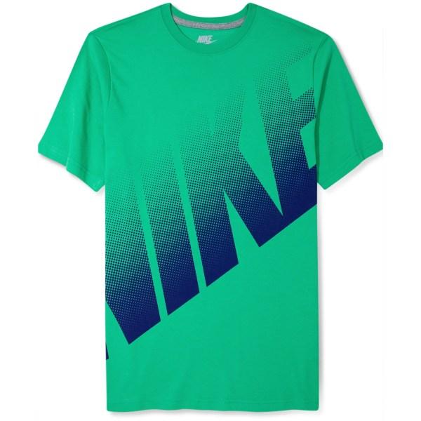 Lyst - Nike Big Dot Logo Tshirt In Green Men