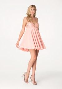 Lyst - Bebe Beaded Babydoll Dress in Pink