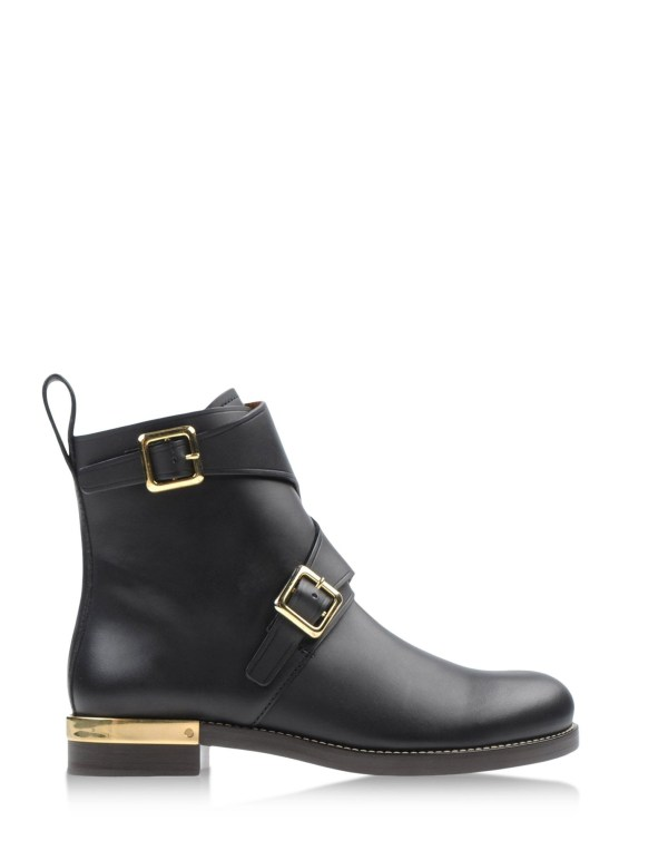 Chlo Ankle Boots In Black Lyst