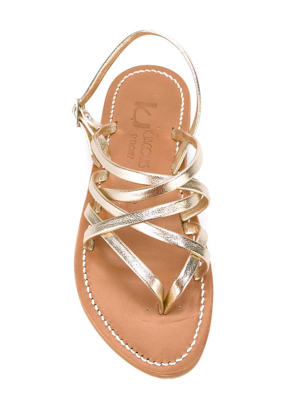 Gold Flat Dress Shoes