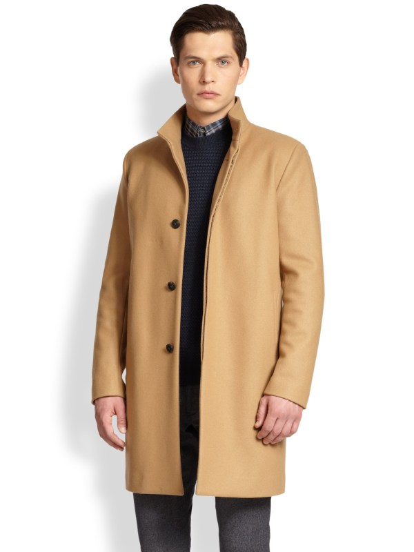 Theory Camel Coat