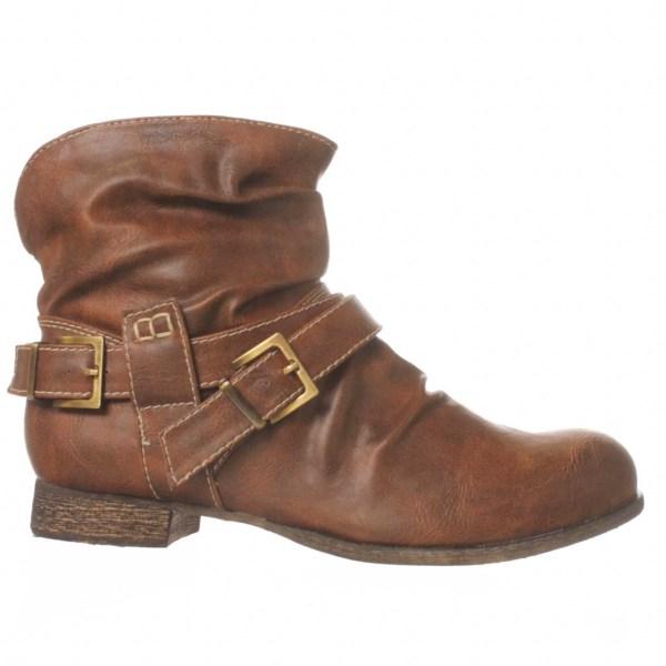 Carlos Santana Unity Huntley Ankle Boot In Brown Lyst