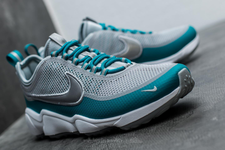 edc77c0ff9737 Lyst Nike Zoom Spiridon Wolf Grey Metallic Platinum For Men