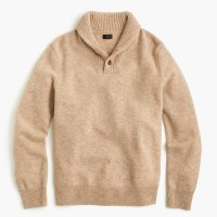 Mens Shawl Collar Sweater J Crew