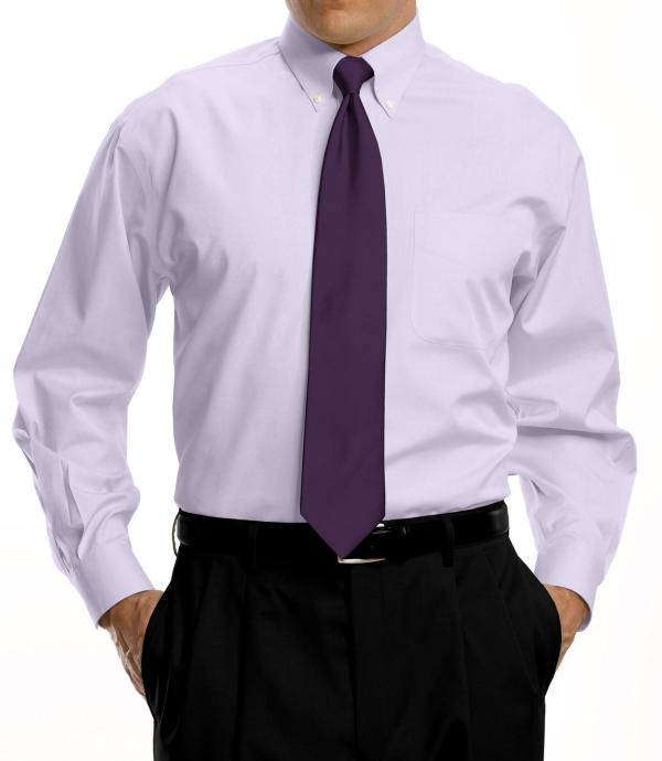 Jos. . Bank Traveller Collection Traditional Fit Button- Collar Dress Shirt - Big & Tall In