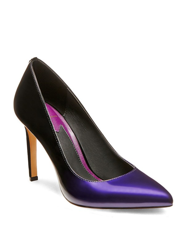 Brian Atwood Malika Patent Leather Pumps In Purple Lyst