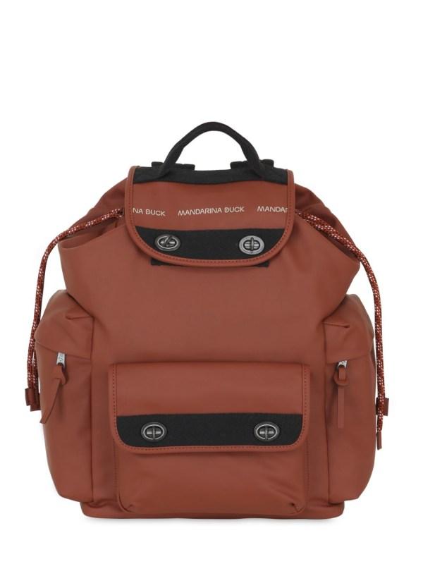 c8176b2864 Mandarina Duck Medium Original Water Resistant Backpack Lyst