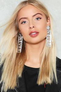 Nasty gal Never Have I Ever Earrings Never Have I Ever ...