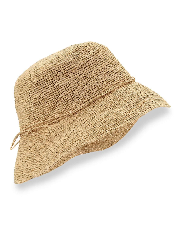 Helen kaminski Provence 8 Brim Raffia Hat in Natural  Lyst