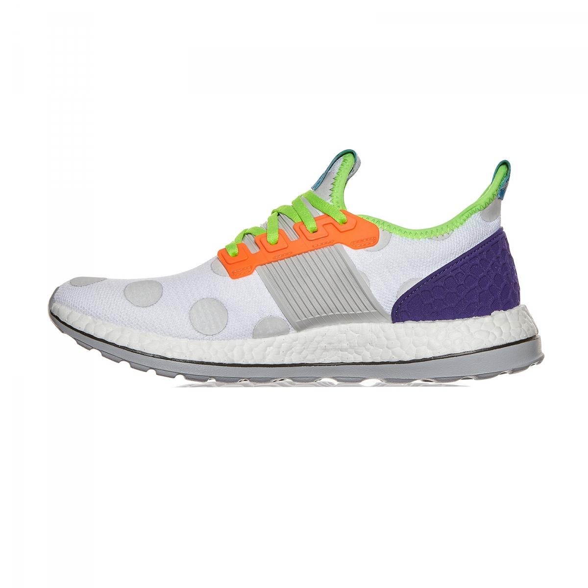 Adidas Originals Pure Boost Zg Kolor Sneakers In White Lyst