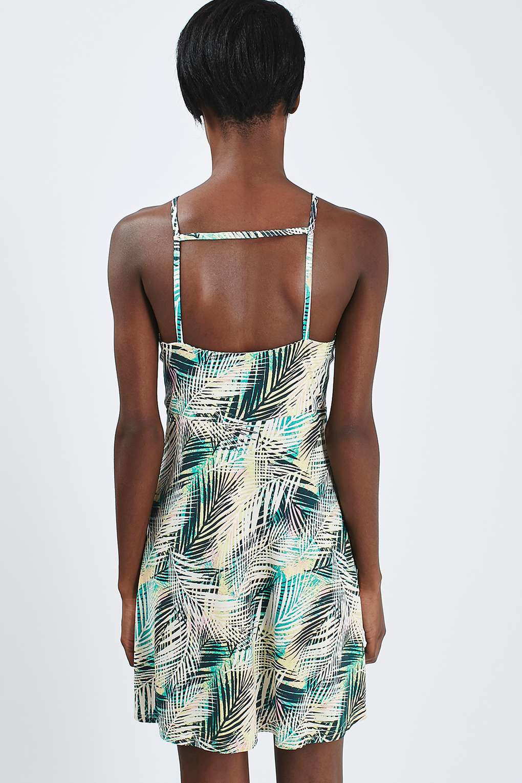 Lyst Topshop Petite Tropical Print Sundress