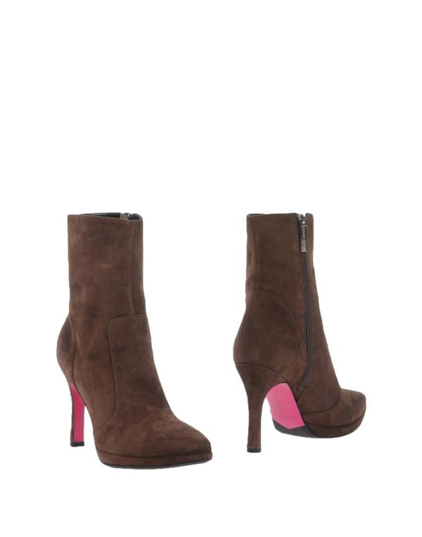 Lyst - Luciano Padovan Ankle Boots In Brown