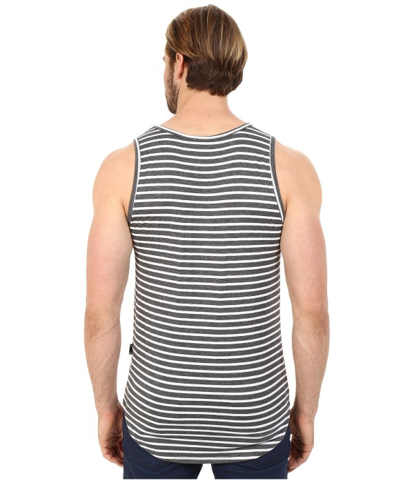 Rustic Dime Striped Tank Top In Gray Men Lyst