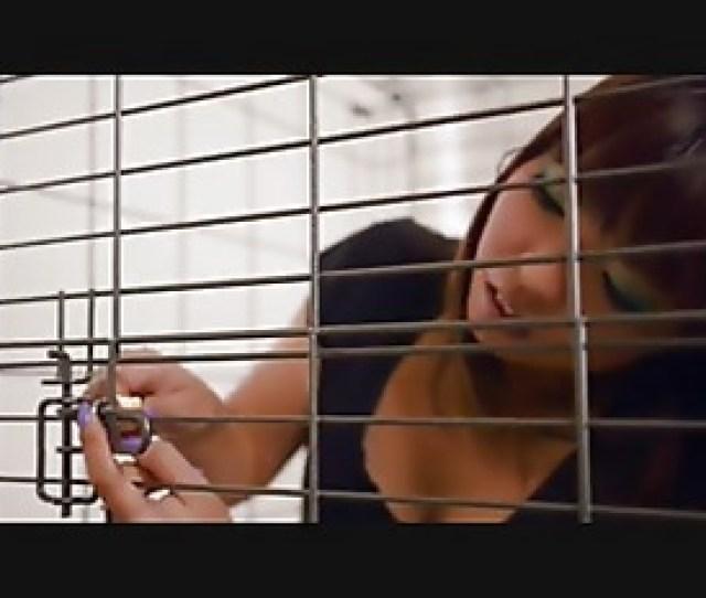 Self Bondage In A Cage