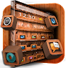 Wooden Touch Launcher icon