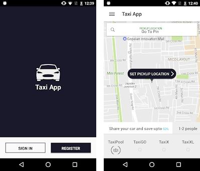 Strap Taxi App 1 0 apk download for Android • io nativebase market