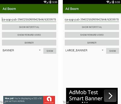 Ad Boom 5 0 apk download for Android • adstester connectads com