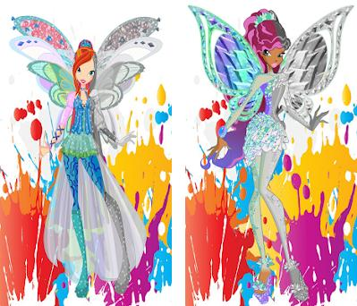 How To Color Winx Club Coloring Book Preview Screenshot