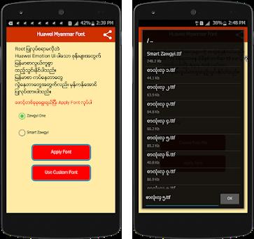 Huawei Myanmar Font 1 0 apk download for Android • com akh