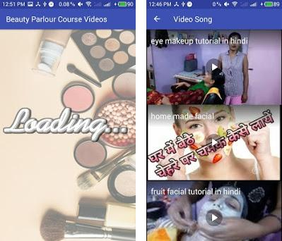 Beauty Parlour Course Videos 1 1 apk download for Android • com
